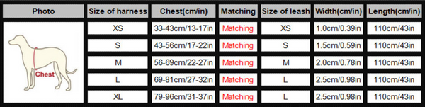 Visibility Harness sizing