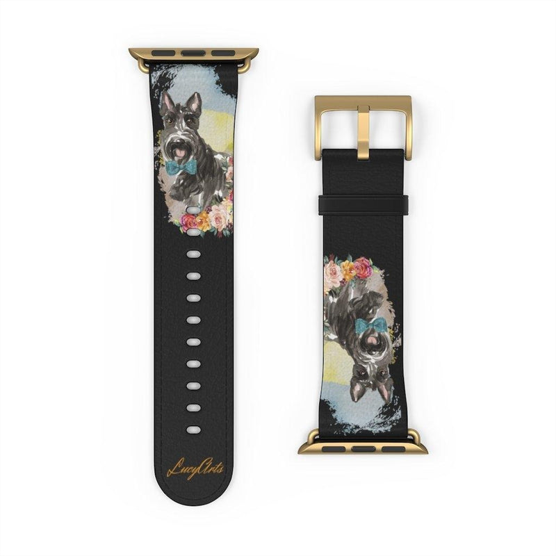 Watch Band Scottish Terrier - LucyBed™ - the softest cat's and dog bed for a healthy and stress free sleep!