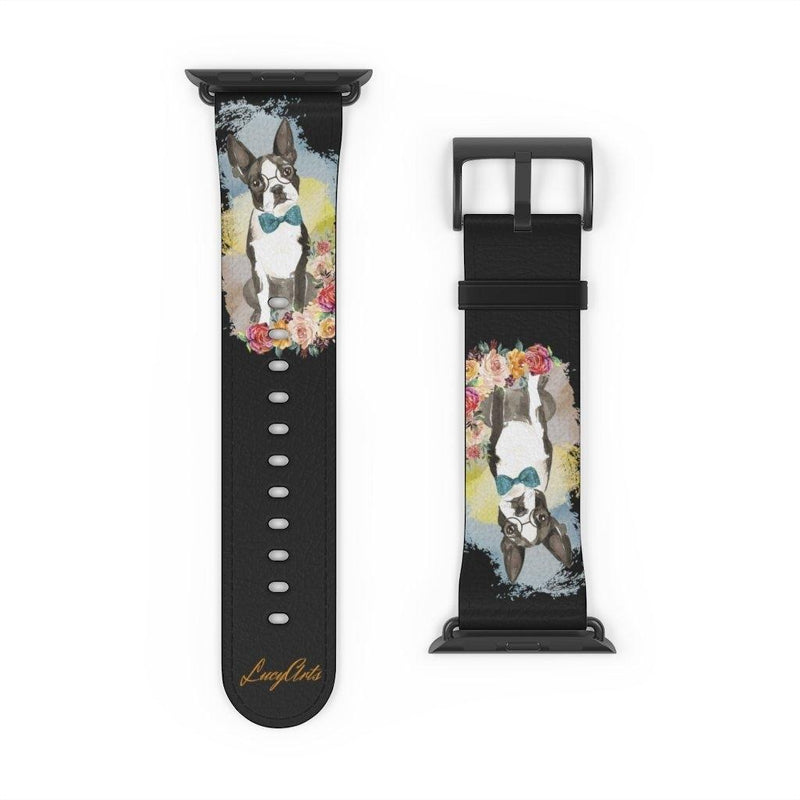Watch Band Boston Terrier - LucyBed™ - the softest cat's and dog bed for a healthy and stress free sleep!