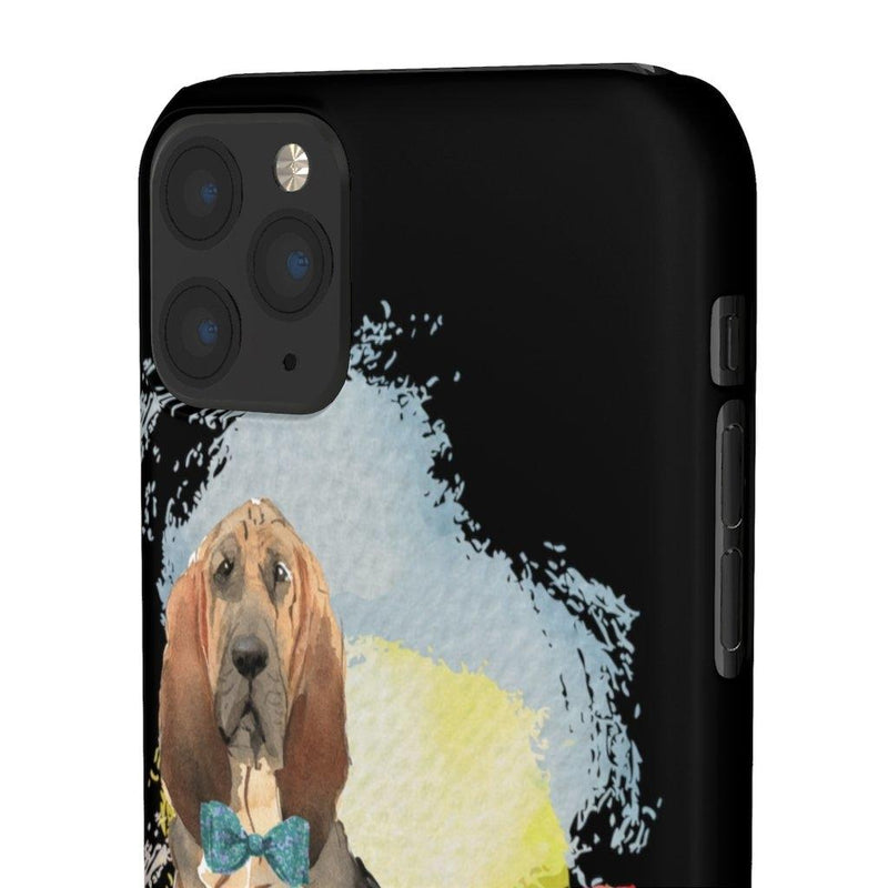 Phone Case Bloodhound - LucyBed™ - the softest cat's and dog bed for a healthy and stress free sleep!