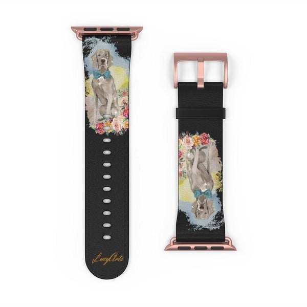 Watch Band Weimaraner - LucyBed™ - the softest cat's and dog bed for a healthy and stress free sleep!