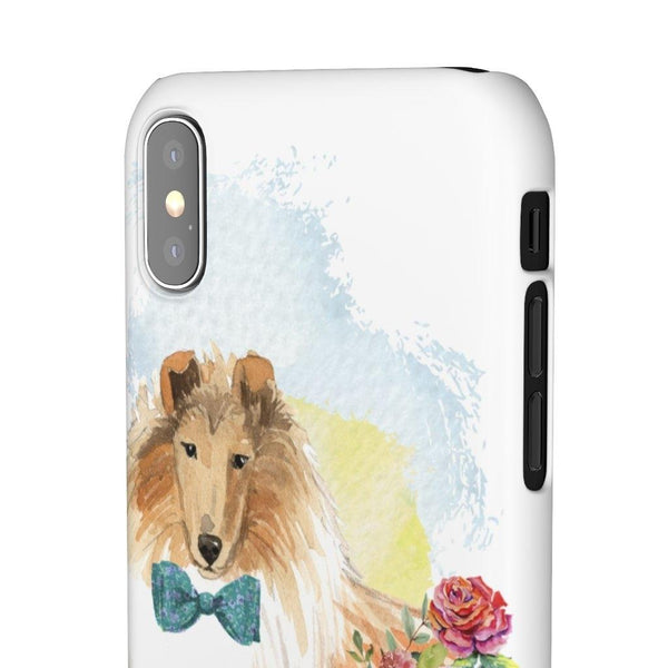 Phone Case Collie - LucyBed™ - the softest cat's and dog bed for a healthy and stress free sleep!