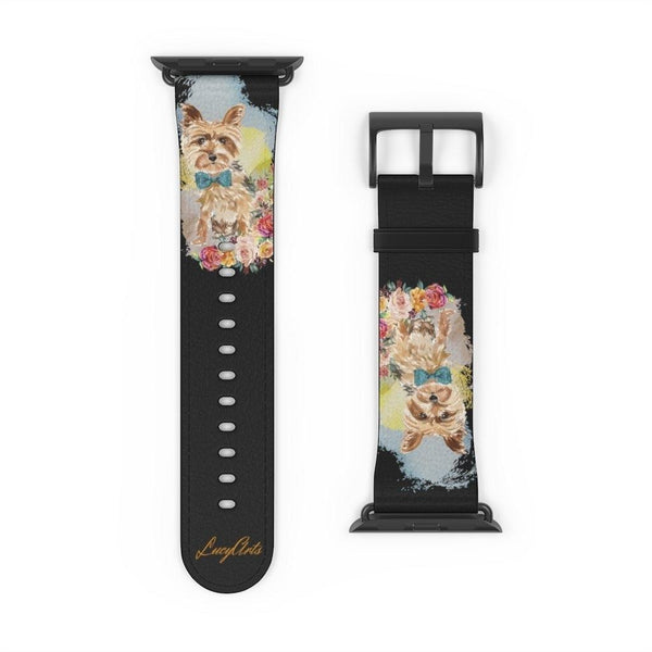Watch Band Yorkshire Terrier - LucyBed™ - the softest cat's and dog bed for a healthy and stress free sleep!