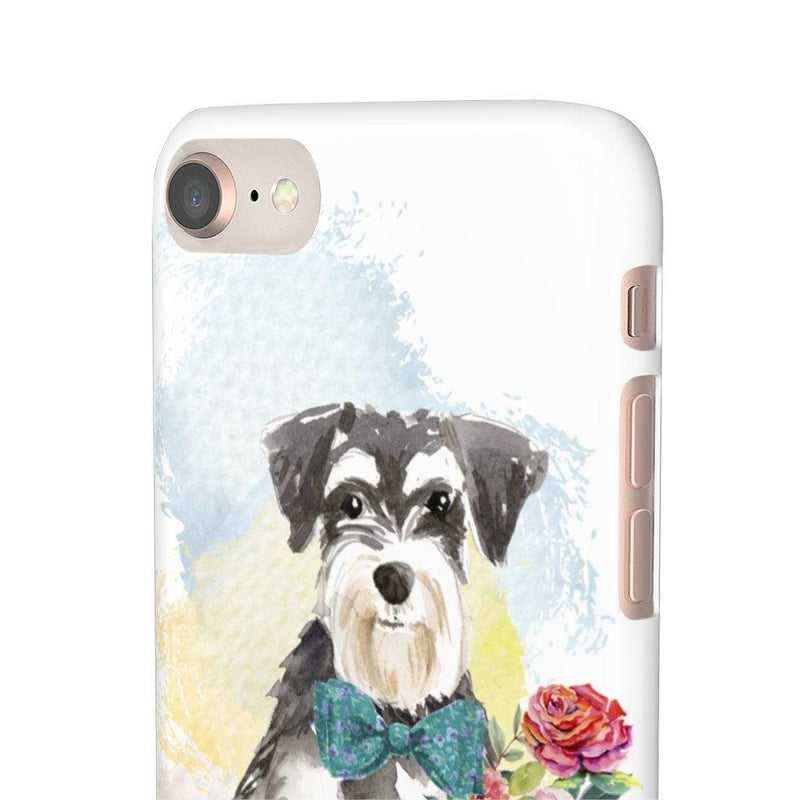 Phone Case Mini Schnauzer - LucyBed™ - the softest cat's and dog bed for a healthy and stress free sleep!
