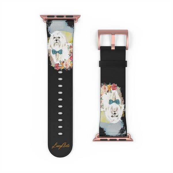 Watch Band Maltese - LucyBed™ - the softest cat's and dog bed for a healthy and stress free sleep!