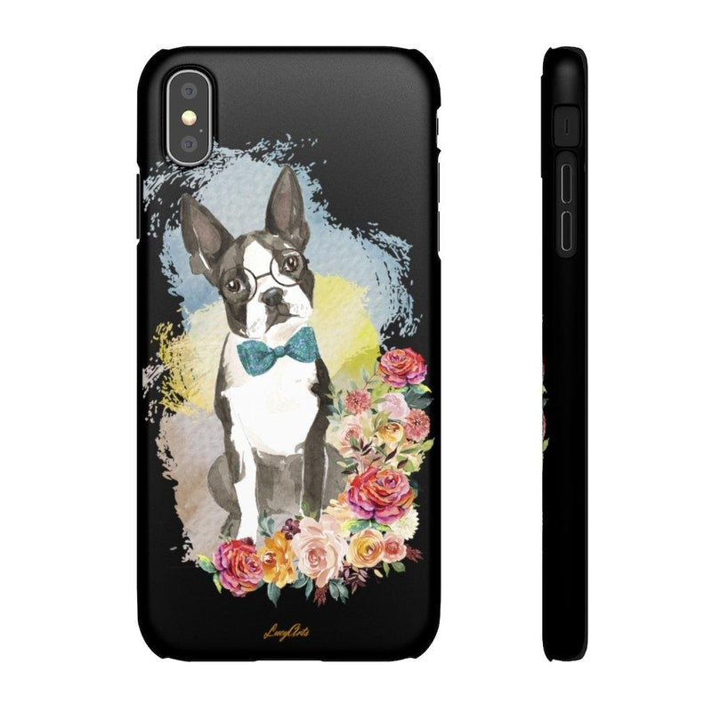 Phone Case Boston Terrier - LucyBed™ - the softest cat's and dog bed for a healthy and stress free sleep!
