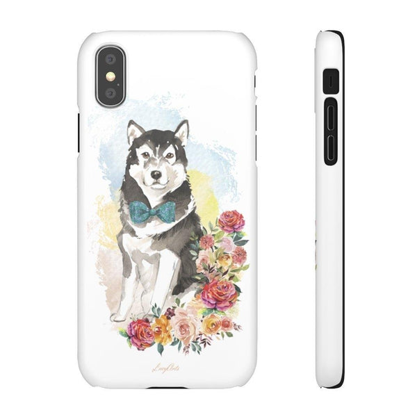 Phone Case Malamute Husky - LucyBed™ - the softest cat's and dog bed for a healthy and stress free sleep!