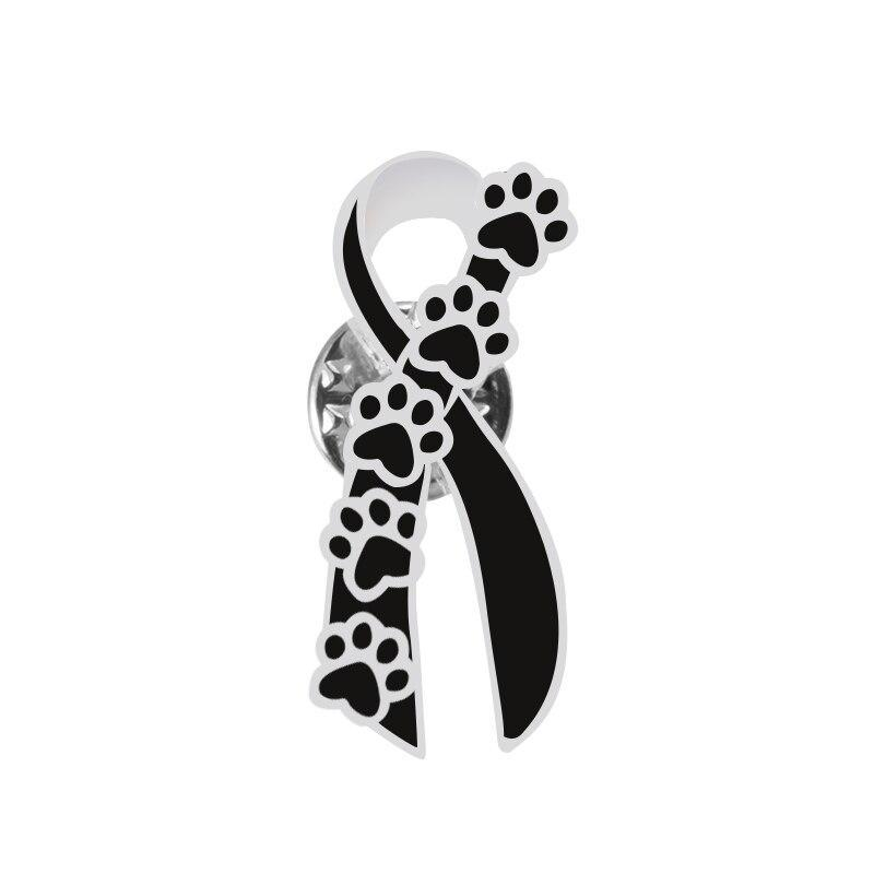 Stand Against Animal Cruelty Awareness Pin