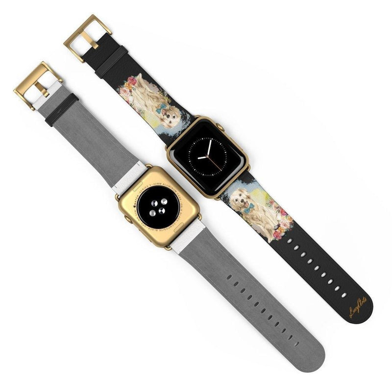 Watch Band Golden Retriver - LucyBed™ - the softest cat's and dog bed for a healthy and stress free sleep!