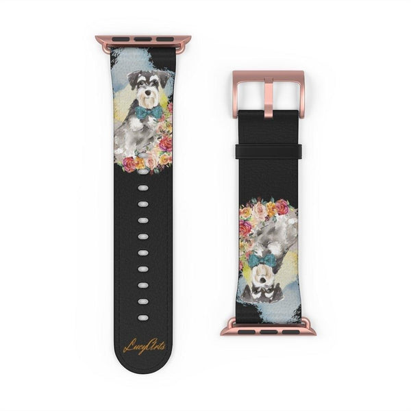 Watch Band Mini Schnauzer - LucyBed™ - the softest cat's and dog bed for a healthy and stress free sleep!