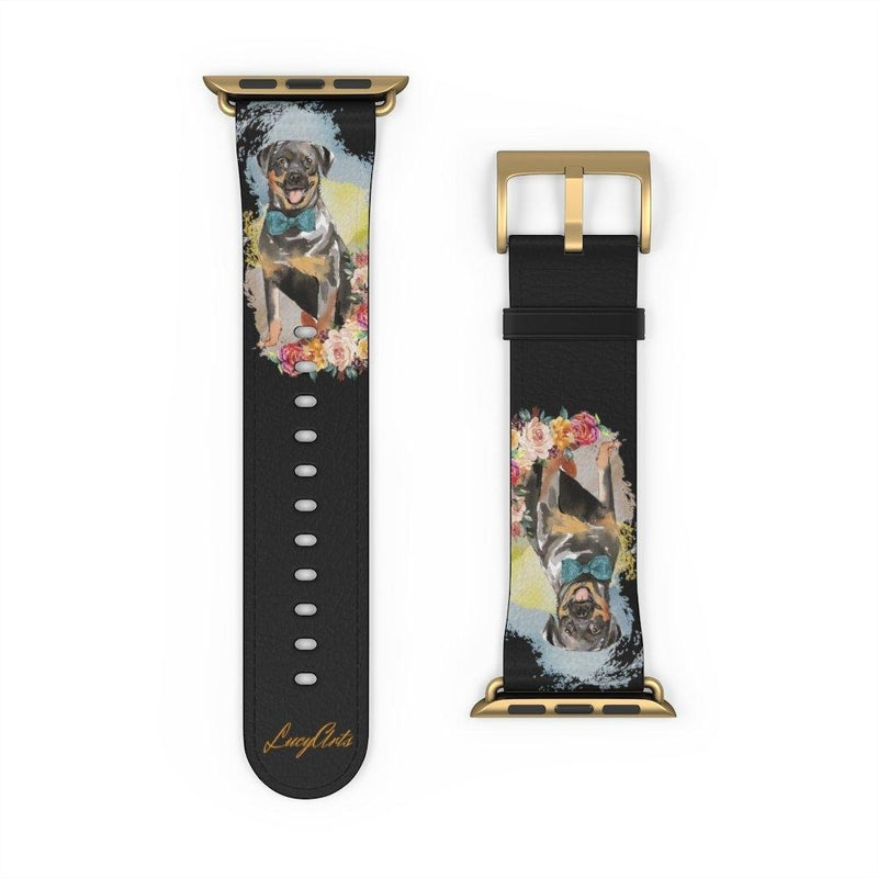 Watch Band Rottweiler - LucyBed™ - the softest cat's and dog bed for a healthy and stress free sleep!
