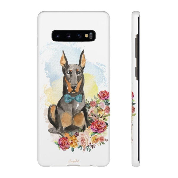 Phone Case Doberman - LucyBed™ - the softest cat's and dog bed for a healthy and stress free sleep!