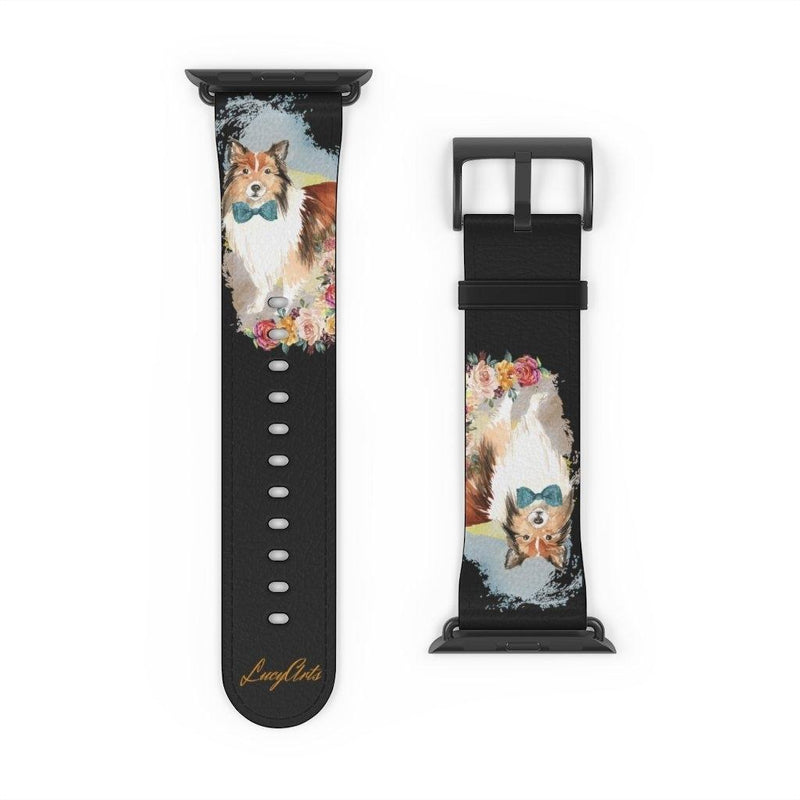 Watch Band Shetland Sheepdog - LucyBed™ - the softest cat's and dog bed for a healthy and stress free sleep!