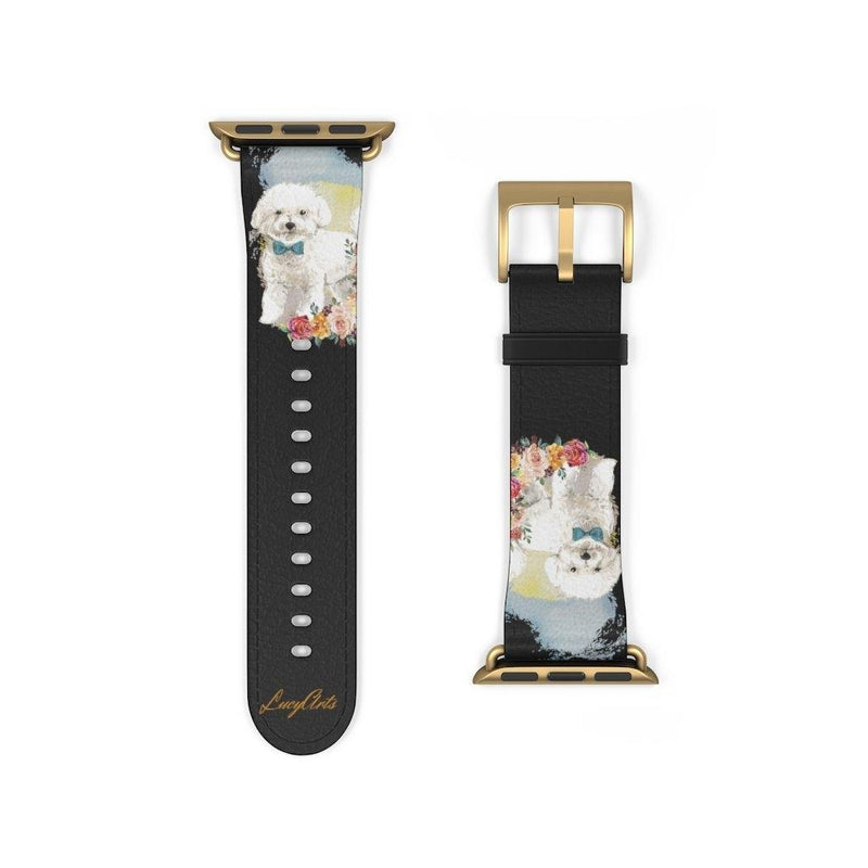 Watch Band Bichon Frise - LucyBed™ - the softest cat's and dog bed for a healthy and stress free sleep!