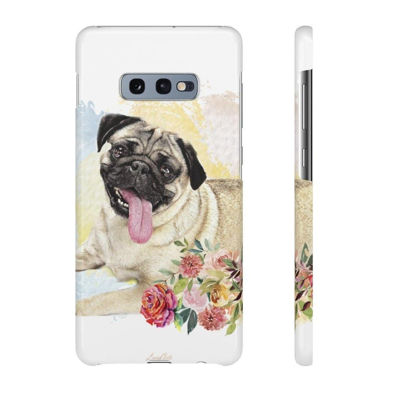 Phone Case Pug - LucyBed™ - the softest cat's and dog bed for a healthy and stress free sleep!