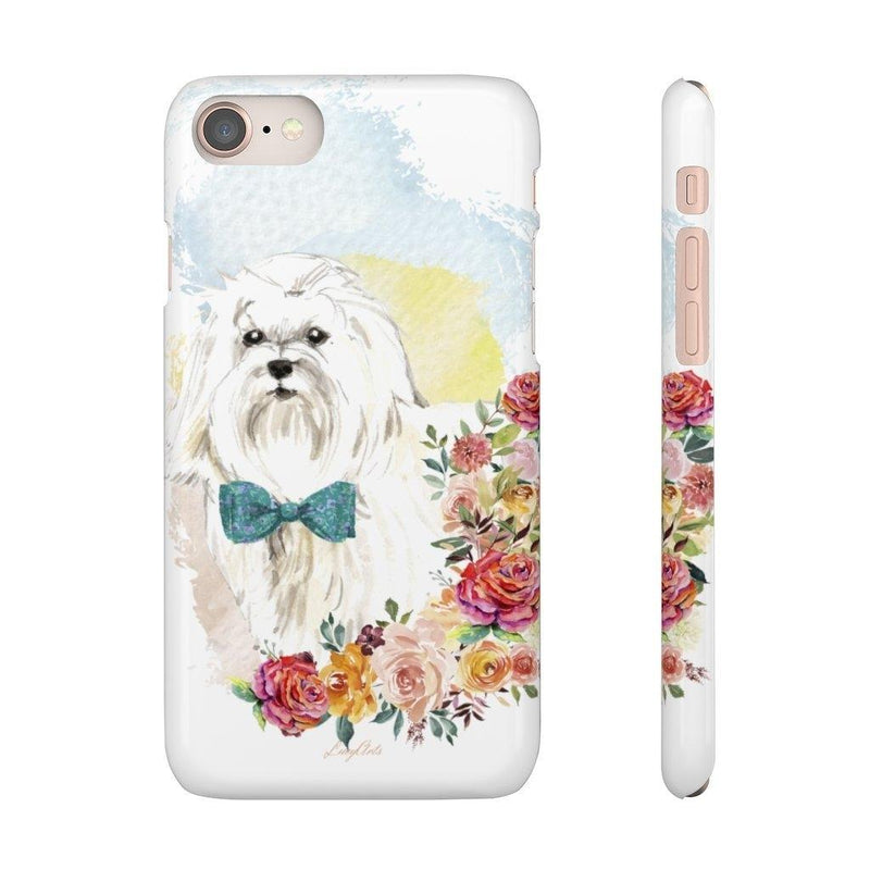 Phone Case Maltese - LucyBed™ - the softest cat's and dog bed for a healthy and stress free sleep!