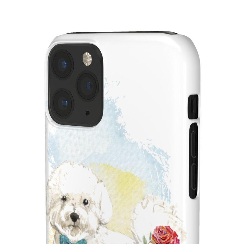Phone Case Bichon Frise - LucyBed™ - the softest cat's and dog bed for a healthy and stress free sleep!