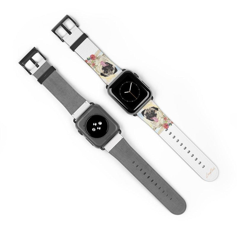 Watch Band Pug - LucyBed™ - the softest cat's and dog bed for a healthy and stress free sleep!