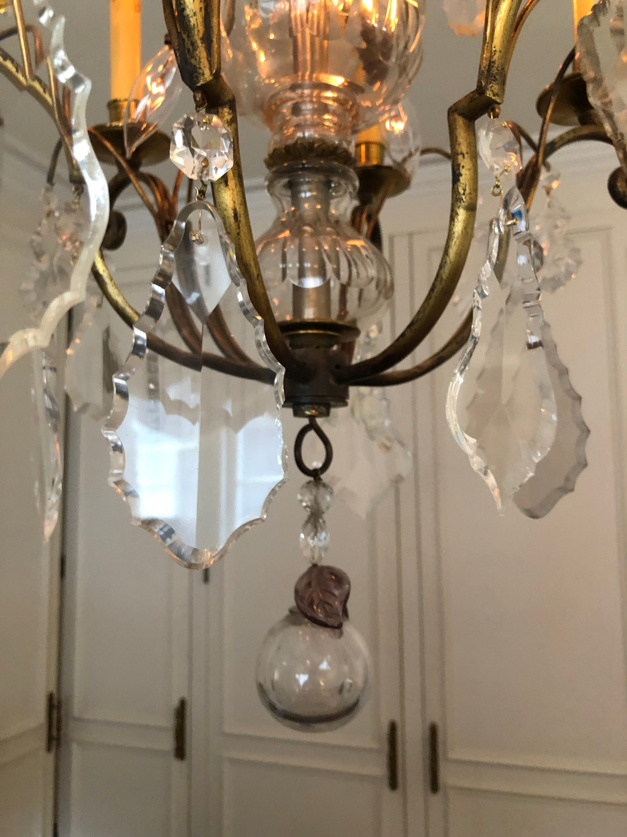 Early 20th Century Louis XVI Style Chandelier