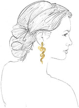Load image into Gallery viewer, Serpentine Earrings