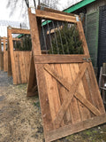 Salvaged Horse-Barn Doors