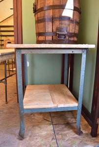 X Ward Industrial Table
