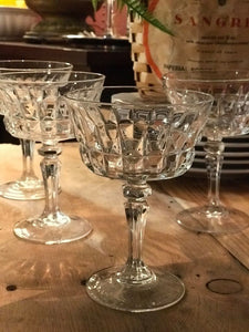 Set of Six Dessert Glasses