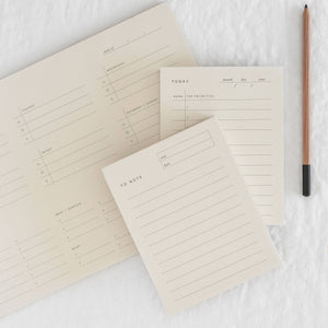 To-Do Block Notepad