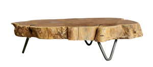 Raw-Edge Wood Riser - FREE SHIPPING