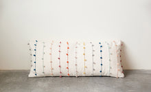 Load image into Gallery viewer, Multicolor Loop-Stripe Lumbar Pillow
