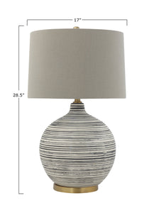 Striated Lamp