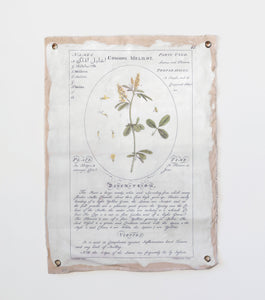 Botanical Canvas Tapestry