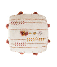Load image into Gallery viewer, Embroidered Bohemian Pouf