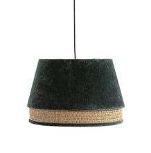 Load image into Gallery viewer, Charcoal Velvet Pendant Chandelier - FREE SHIPPING!