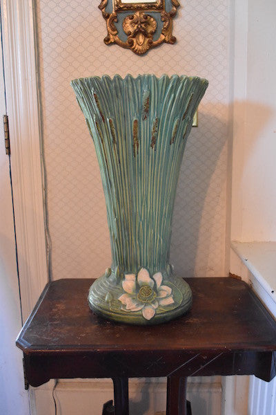 Weller Pottery Ardsely umbrella stand - Buena Vista collection
