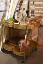 Load image into Gallery viewer, Moroccan Bar Cart - FREE SHIPPING!