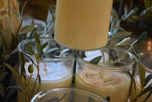 Chartreuse & co  scented candles