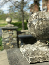 Load image into Gallery viewer, WOW Markdown! Pair of Vintage Concrete Finials