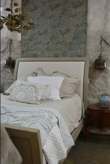 Linen duvet and shams