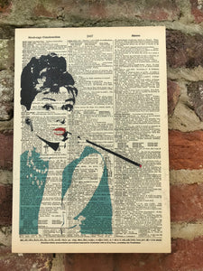 Make a statement w/ Dictionary art