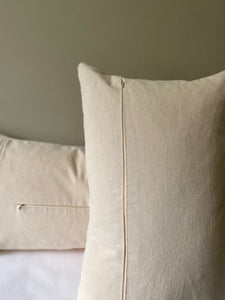 Grain Sack Lumbar Pillow