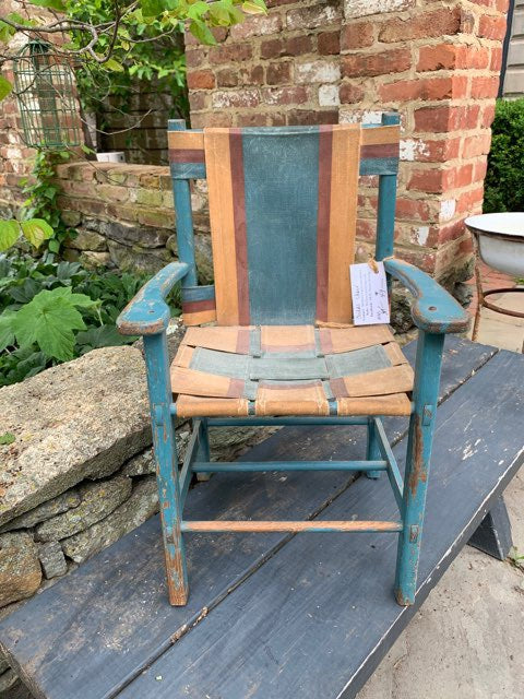 Vintage Woven Child's Chair