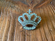 Load image into Gallery viewer, Rhinestone Crown Pin