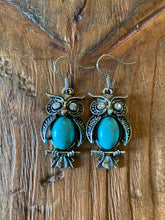 Load image into Gallery viewer, Wise Owl Earrings