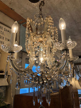 Load image into Gallery viewer, Fabulous Vintage Crystal Chandelier