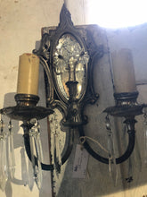Load image into Gallery viewer, Vintage Sconce with Mirror