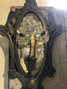 Vintage Sconce with Mirror