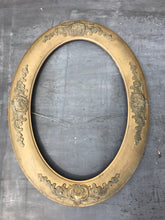 Load image into Gallery viewer, Vintage Oval Gold Frame