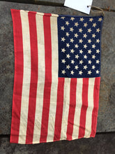 Load image into Gallery viewer, Vintage Cotton American Flag