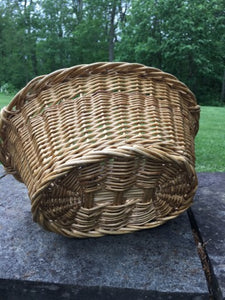 Vintage Rattan Mini French Market Baskets
